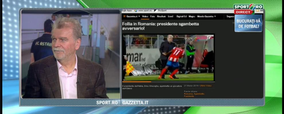 "Reactia lui ""Vama"" cand a aflat ca numele lui a ajuns in Gazzetta dello Sport: ""Imi pare rau!"""