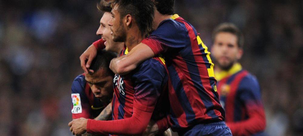 Neymar a sarbatorit victoria din El Clasico alaturi de una dintre cele mai frumoase femei din lume FOTO