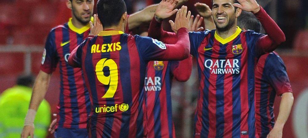 DEZASTRU! Real pierde totul: E la 3 puncte de Atletico si 2 de Barca: Barca 3-0 Celta Vigo, Sevilla 2-1 Real, Atletico 1-0 Granada