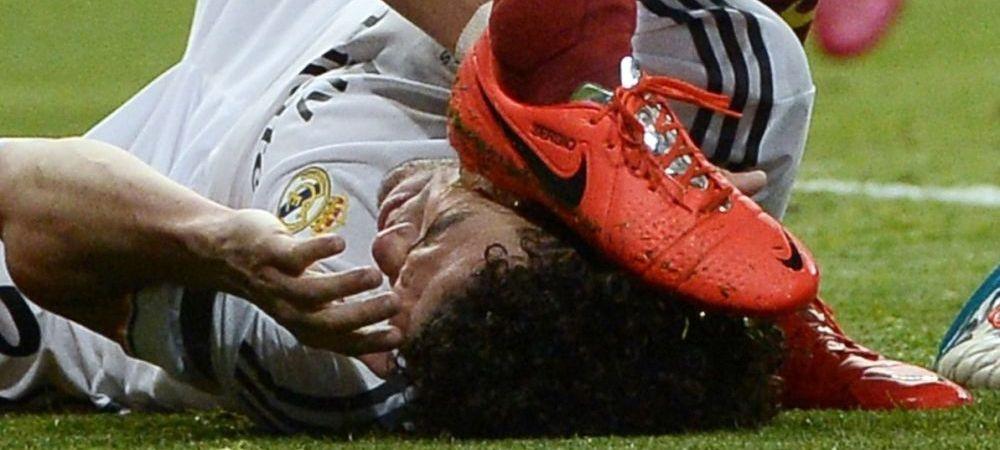 Ancelotti a facut anuntul! Ce decizie a luat Real Madrid dupa faza CRIMINALA in care Pepe a fost calcat pe cap de Busquets!