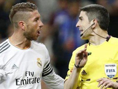 Decizie in cazul Ramos! Ancelotti s-a suparat RAU! Ce are de gand sa faca Real dupa eliminarea capitanului la El Clasico