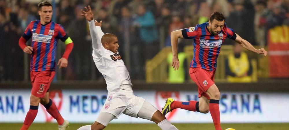 """Steaua si-a luat un jucator NEMURITOR: """"Nici nu se vede varsta din buletin! Il ajuta mult tehnica"""" Cine a venit sa ia titlul"""