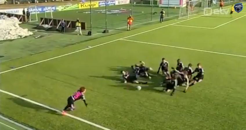 VIDEO Cea mai tare bucurie la un gol in DERBY? :) Stelistii si dinamovistii se pot inspira din cea mai nebuna celebrare a unui gol
