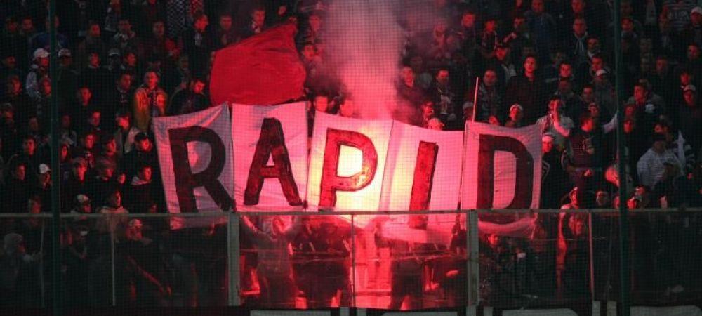 Lovitura pentru Rapid! Giulestenii, obligati sa joace pe teren neutru primul meci din play off-ul pentru promovare.