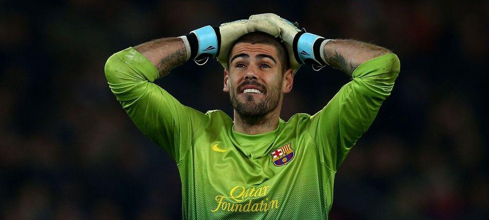 Verdict crunt dat de medici! Anunt oficial facut de Barca: Valdes va fi operat, meciul cu Celta a fost ultimul pe Camp Nou