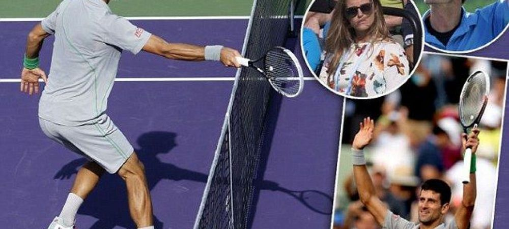 Gafa mare de arbitraj la tenis! Djokovic a lovit mingea din terenul lui Murray si a castigat MECIUL! VIDEO