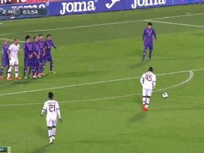 Balotelli l-a INGROZIT cand a sutat la poarta! Gest inexplicabil la golul lui Super Mario! VIDEO