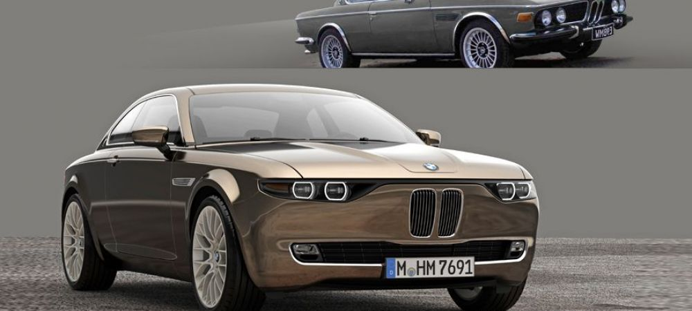 BMW rupe tot cu asta! Asa arata Vintage Concept, masini din anii '60 construite pentru 2014! FOTO