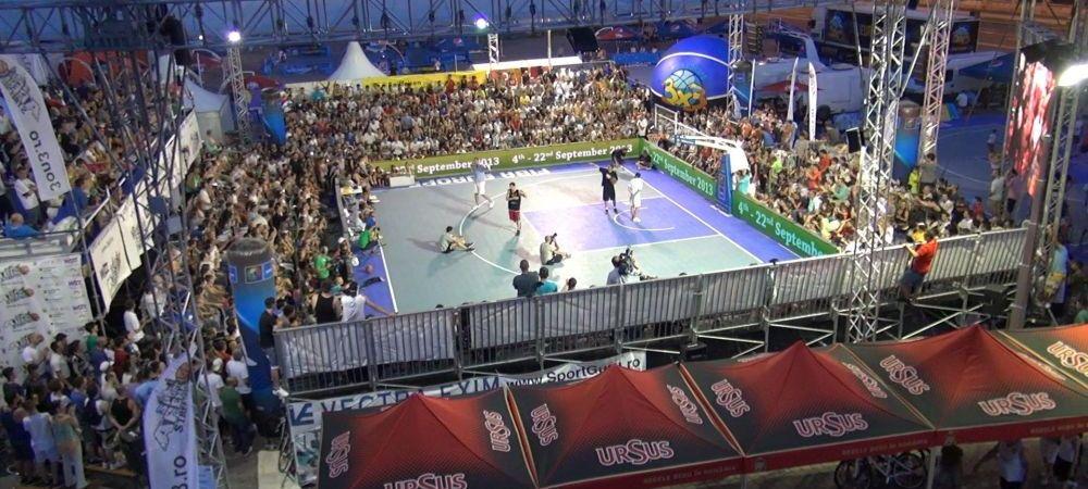 Te muti de pe terenul din parc in cea mai tare competitie POSIBILA! Vezi cum te poti inscrie la Sport Arena Streetball