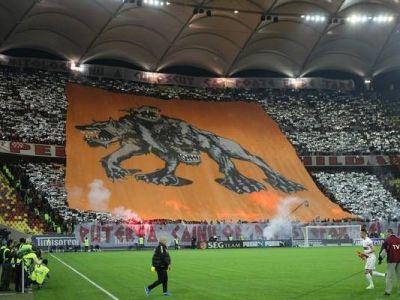 """Stapanii decibelilor! Cei 8000 de dinamovisti au reusit sa isi intreaca rivalii pe stadion! Cat de tare au """"latrat"""" cainii :)"""