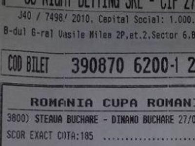 FANTASTIC! A nimerit perfect scorul de la Steaua - Dinamo, apoi s-a dus TOTUL! Ce a patit un parior care trebuia sa fie bogat!