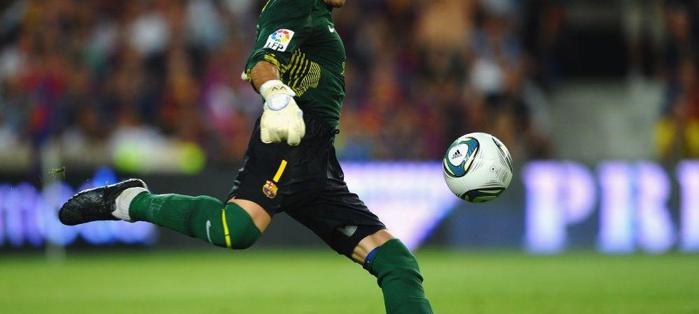 Barcelona i-a gasit repede inlocuitor lui Valdes! Catalanii pot transfera un portar de viitor, insa abia la vara! Pe cine vor: