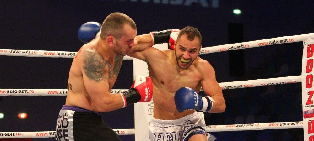 "LK ""Innebunesti in Ploiesti"" | Pitbull Atodiresei a castigat superfightul cu grecul Exakoustidis, Bogdan Stoica a pierdut! VIDEO:"