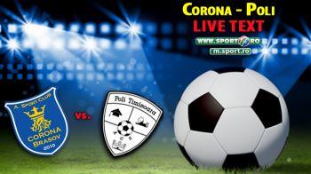 Corona Brasov 0-0 ACS Poli! Timisorenii rateaza sansa de a se departa de zona retrogradabila, Otelul si Sageata pot profita!