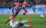 Vesti proaste pentru Contra si Marica! Diego Costa si-a revenit si va putea juca pentru Atletico, in meciul de maine