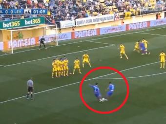 Catastrofa! :)) Doi jucatori erau sa se dea cap in cap la o lovitura libera, comentatorii au izbucnit in ras! VIDEO