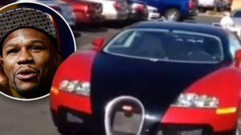 """""""Faceti asta cu Bugatti-urile mele si va duc la urmatoarea mea lupta!"""" Super provocarea lui Mayweather pentru fani"""