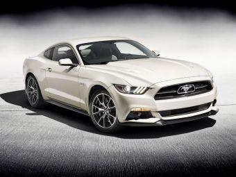 FOTO Ford Mustang implineste 50 de ani! Editia SPECIALA lansata de americani! Vezi cum arata:
