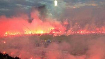 Cea mai INCENDIARA coregrafie vazuta vreodata, LA PROPRIU! :) Fanii au fost la un pas sa dea foc intregului stadion la derby!