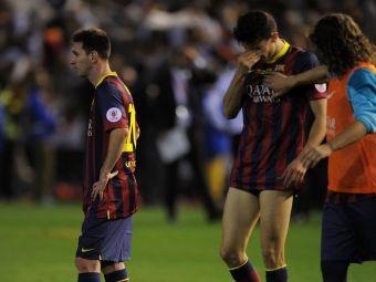 Problemele nu se mai opresc pentru Barcelona! Cu apararea in piuneze, catalanii au primit inca o lovitura grea! Ce a patit Puyol
