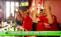 """Fanii lui Liverpool din Bucuresti au petrecut in Centrul Vechi! """"E cel mai bun loc de vazut meciuri, dupa Anfield!"""" VIDEO"""