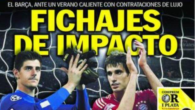 """""""Astea sunt primele BOMBE ale Barcelonei!"""" S-au aflat NUMELE URIASE de pe lista de transferuri din vara! Pe cine aduc"""
