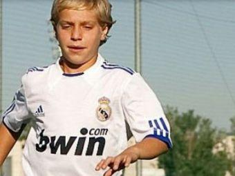 """E cel mai bun junior de la Real! """"Vreau sa il cunosc pe Hagi!"""" Povestea SUPERBA a pustiului care face minuni la Madrid"""