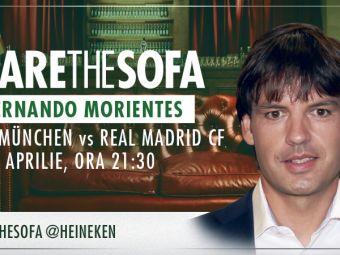 Morientes vine pe canapeaua virtuala Heineken pentru a comenta returul dintre Real Madrid si Bayern!
