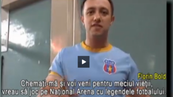 Surpriza pe National Arena in ziua finalei Cupei Romaniei: un fost luptator din Afganistan va fi pe teren!