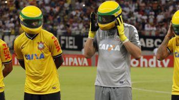 20 de ANI FARA SENNA   Gest emotionant facut de jucatorii de fotbal de la Corinthians! VIDEO