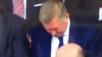 Ferguson nu mai intelege nimic din ce se intampla la United! IPOSTAZA incredibila in care a fost surprins la infrangerea de ieri