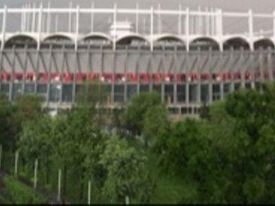 Ce s-a intamplat cu National Arena in timpul furtunii din Bucuresti care a inundat Capitala. SUPER FOTO