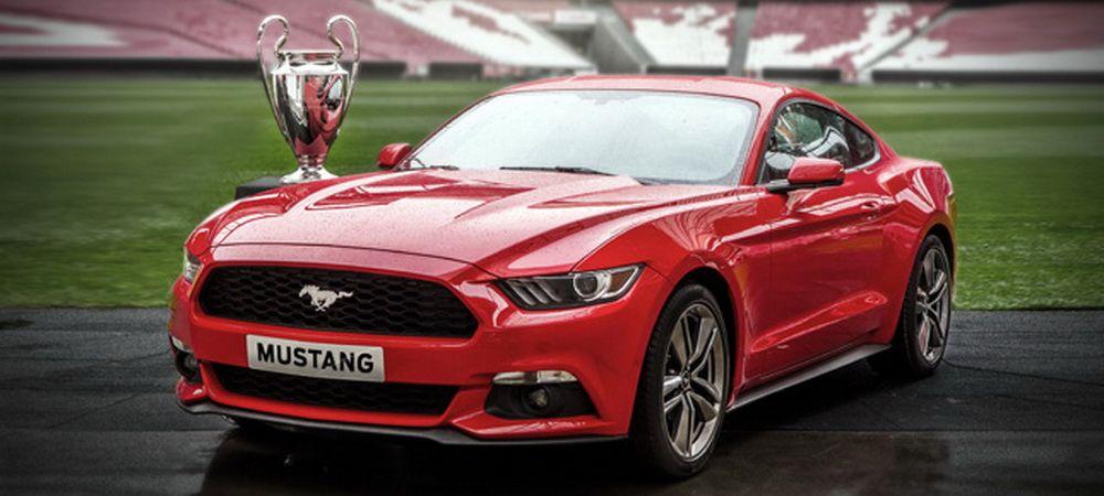 Premiera in Europa: 500 de Mustang-uri editie limitata vor fi vandute in timpul finalei Champions League!