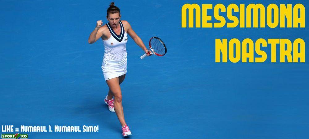 Halep - Sharapova 6-1, 2-6, 3-6! Simona a facut un prim set entuziasmant, dar Sharapova si-a revenit incredibil si a castigat!