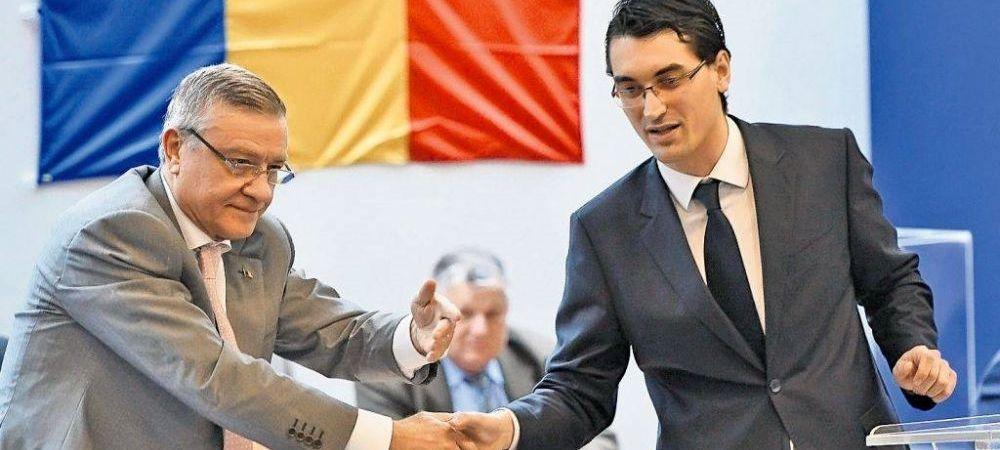 """A inceput razboiul la FRF? """"Sa stea cuminte in banca lui, Burleanu e prea mic pentru mine"""" Mesaj dur al fostului presedinte"""