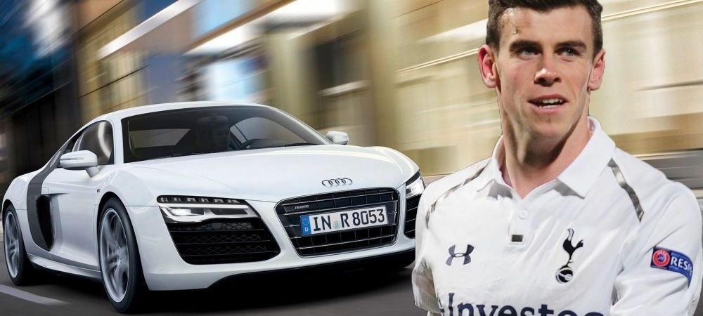 Gareth Bale are o masina pe masura vitezei sale, scoate 100km/h in 4 secunde! Vezi colectia jucatorului pe care Real a dat 100 mil