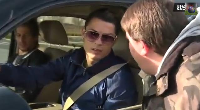 Umilinta pentru unul dintre jucatorii lui Real Madrid! Ce se intampla cand vii la stadion cu Ronaldo in masina! VIDEO
