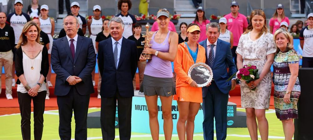 Sharapova a sarbatorit in jacuzzi victoria cu Halep! Poza pe care a postat-o pe Twitter imediat dupa finala