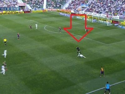 Fanii Barcei au fost la un pas de INFARCT! Pinto a luat mingea si a inceput sa dribleze ca Messi! Faza care ii putea costa TITLUL