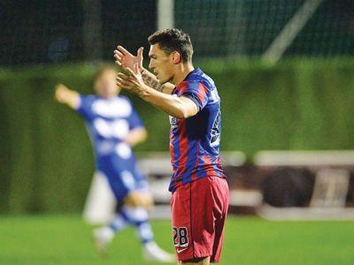 NU era nimeni pe stadion, dar stelistii se distrau! Gestul neasteptat facut de Piovaccari dupa golul marcat de Keseru!