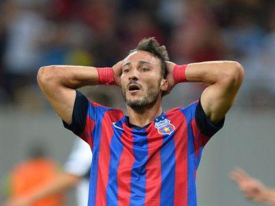 """Steaua s-a PIERDUT dupa eliminarea lui Piovaccari! """"Noi voiam sa jucam asa!"""" Reactia capitanului:"""