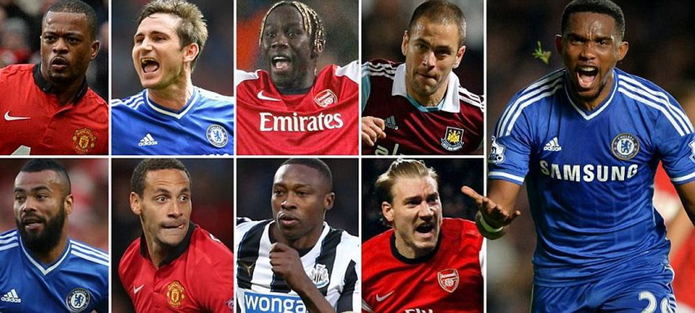 """Premier League isi pierde VEDETELE: Lampard, Eto'o si Rio Ferdinand! Cel mai bun """"11"""" al jucatorilor ramasi liberi de contract"""