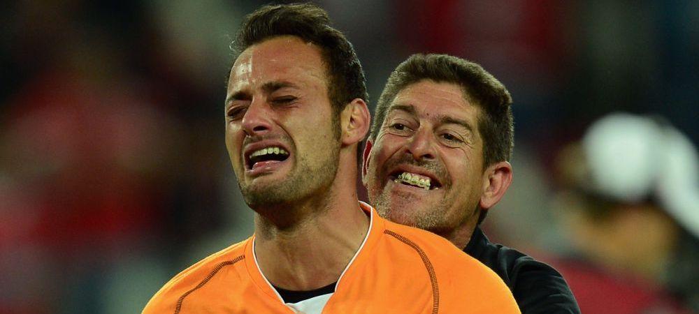 """Stiu ca tata e mandru de mine!"" Cuvintele rostite de Beto, in lacrimi, dupa ce a adus trofeul Europa League la Sevilla"