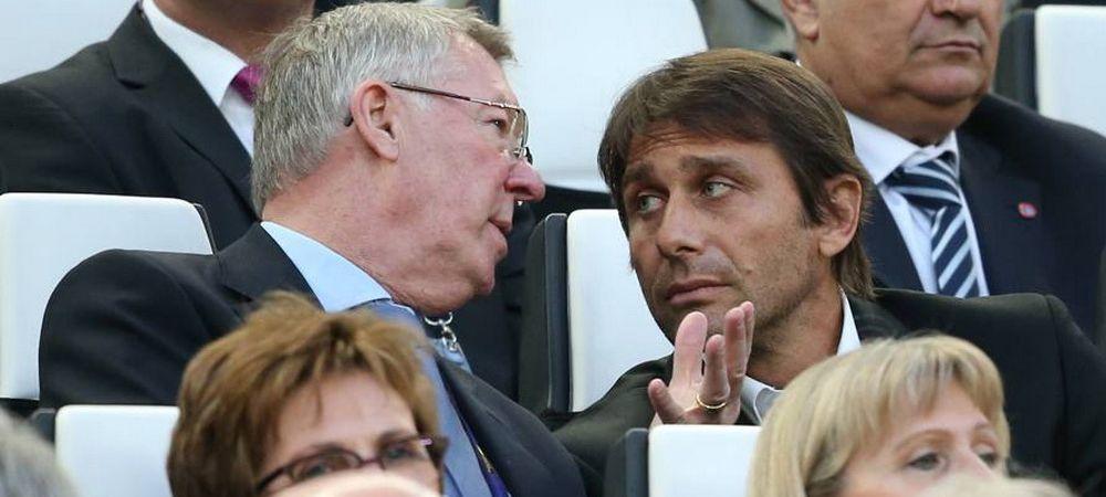 Afacerea de 32 mil pe care € Ferguson si Conte au negociat-o aseara la finala Cupei! Cine ajunge in vara pe Old Trafford: