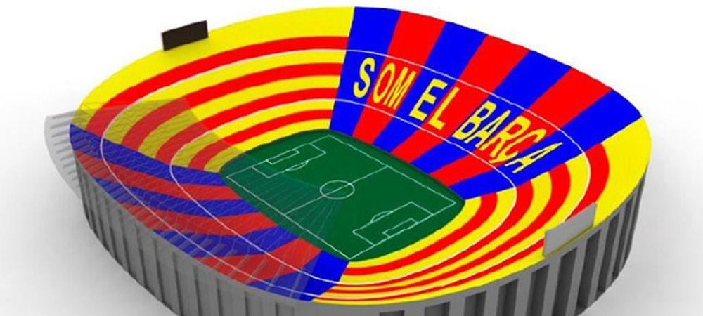 """""""Noi suntem Barca!"""" Imaginea care va intra in istoria Barcei. Cum se va transforma stadionul pentru meciul de titlu cu Atletico"""