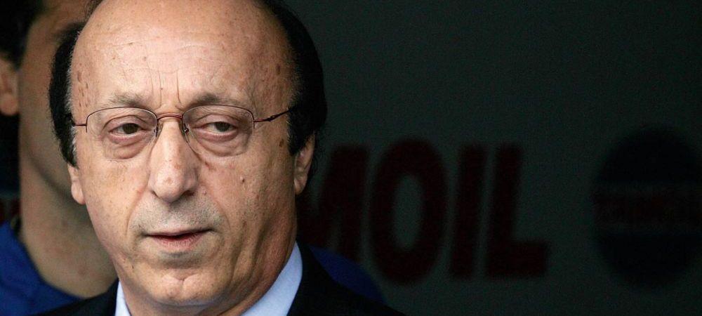 Luciano Moggi se afla in tribune la meciul lui Dinamo! Cine este jucatorul urmarit de italian