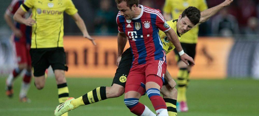 "Bayern castiga Cupa! Robben si Muller au inscris in prelungiri! Dortmund 0-2 Bayern! ""Gol fantoma"" pentru Dortmund"