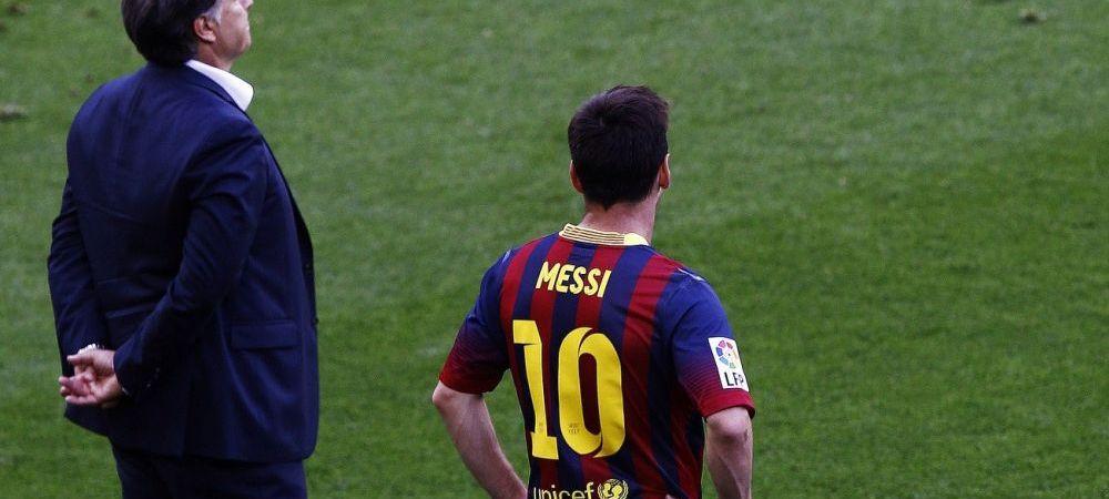 Unde a DISPARUT Messi? Chipul unui dezastru total. Nimeni nu l-a mai recunoscut la finalul partidei cu Atletico