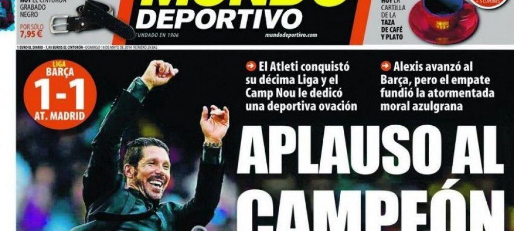 Gest de SENZATIE al ziarelor Barcelonei dupa drama tiki-taka! El e SUPER EROUL care a terminat o era pe Camp Nou