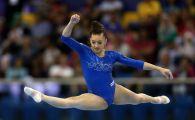 Larisa Iordache, AUR la sol, BRONZ la sarituri, ARGINT la barna la Europenele de gimnastica